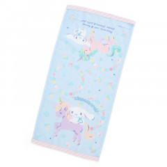 Japan Sanrio Face Towel - Cinnamoroll & Unicorn