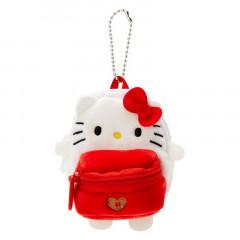 Japan Sanrio Mini Backpack Mascot Keychain - Hello Kitty