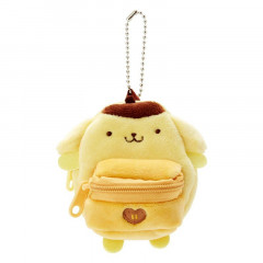 Japan Sanrio Mini Backpack Mascot Keychain - Pompompurin