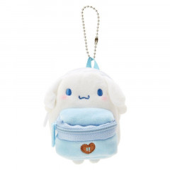 Japan Sanrio Mini Backpack Mascot Keychain - Cinnamoroll