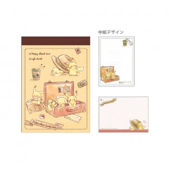 Japan Pokemon B8 Mini Notepad - Pikachu
