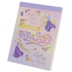Japan Disney B8 Mini Notepad - Rapunzel Go Live Your Dream