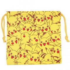 Japan Pokemon Drawstring Bag - Pikachu
