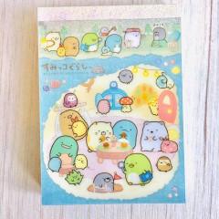 Japan San-X B8 Mini Notepad - Sumikko Gurashi / Mole House A