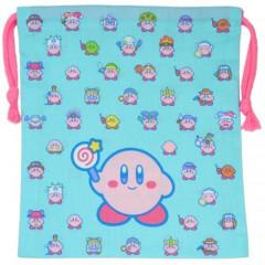 Japan Nintendo Drawstring Bag - Kirby MUTEKI SUTEKI CLOSET