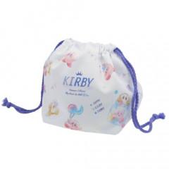 Japan Nintendo Drawstring Bag - Kirby Lollipop Lunch Bag