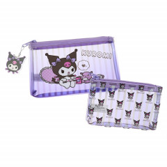 Japan Sanrio Mini Pouch - Kuromi Set of 2 pcs