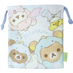 Japan Rilakkuma Drawstring Bag - Dinosaur