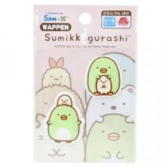 Japan Sumikko Gurashi Embroidery Iron-on Applique Patch - Penguins?