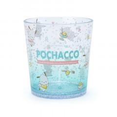 Japan Sanrio Clear Plastic Tumbler - Pochacco