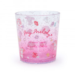 Japan Sanrio Clear Plastic Tumbler - My Melody