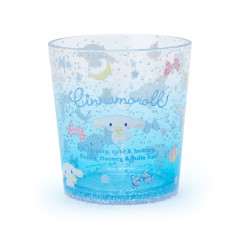 Japan Sanrio Clear Plastic Tumbler - Cinnamoroll