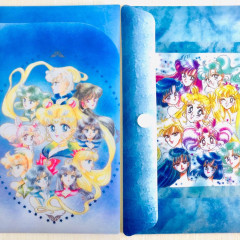 Sailor Moon Folder File - Navy Comic Style