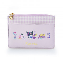 Japan Sanrio Card Holder Purse - Kuromi