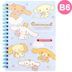 Japan Sanrio B6 Twin Ring Notebook - Cinnamoroll