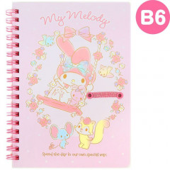 Japan Sanrio B6 Twin Ring Notebook - My Melody