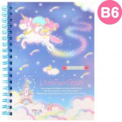 Japan Sanrio B6 Twin Ring Notebook - Little Twin Stars