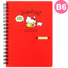 Japan Sanrio B6 Twin Ring Notebook - Hello Kitty