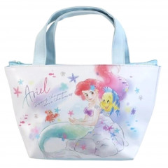 Japan Disney Tote Bag with Insulation Pouch - Ariel Sunny Days
