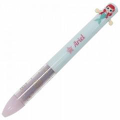 Japan Disney Two Color Mimi Pen - Ariel