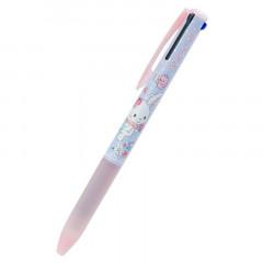 Japan Sanrio Super Grip 3 Color Ball Pen - Wish Me Mell