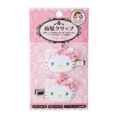 Japan Sanrio Hair Clip 2pcs - Hello Kitty