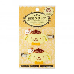 Japan Sanrio Hair Clip 2pcs - Pompompurin