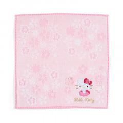 Japan Sanrio Sakura Handkerchief Petit Towel - Hello Kitty