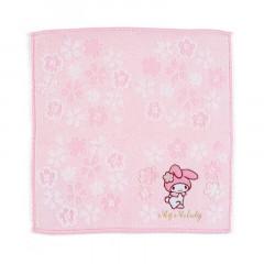 Japan Sanrio Sakura Handkerchief Petit Towel - My Melody
