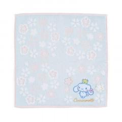 Japan Sanrio Sakura Handkerchief Petit Towel - Cinnamoroll
