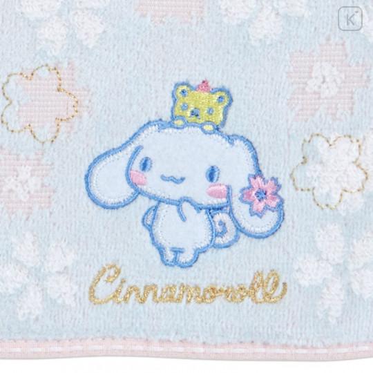 Japan Sanrio Sakura Handkerchief Petit Towel - Cinnamoroll - 2