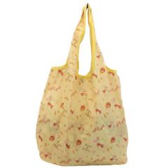 Japan Disney Smart Eco Shopping Bag - Winnie the Pooh / Yellow