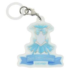 Japan Sailor Moon Acrylic Keychain - Super Sailor Mercury Umbrella Marker Eternal