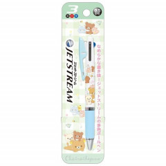 Japan Rilakkuma Jetstream 3 Color Multi Pen - Garden