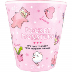 Japan Pokemon Melamine Cup - Pink