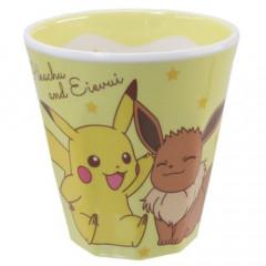Japan Pokemon Melamine Cup - Pikachu & Eevee
