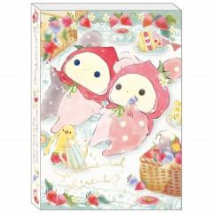 Japan San-X A6 Notepad - Sentimental Circus / Tears Strawberries