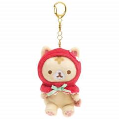 Japan San-X Keychain Plush - Corocoro Coronya / Strawberry