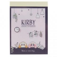 Japan Kirby B8 Mini Notepad - Afternoon