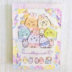 Japan Sumikko Gurashi C8 Mini Notepad - Mysterious Rabbit