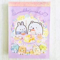 Japan Sumikko Gurashi C8 Mini Notepad - White Bear & Mysterious Rabbit
