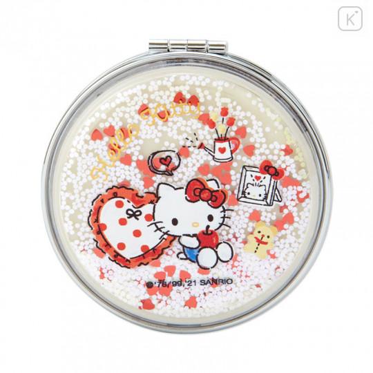 Japan Sanrio 2-sided Pocket Mirror - Hello Kitty / Happy Spring - 2