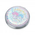 Japan Sanrio 2-sided Pocket Mirror - Little Twin Stars / Happy Spring - 1
