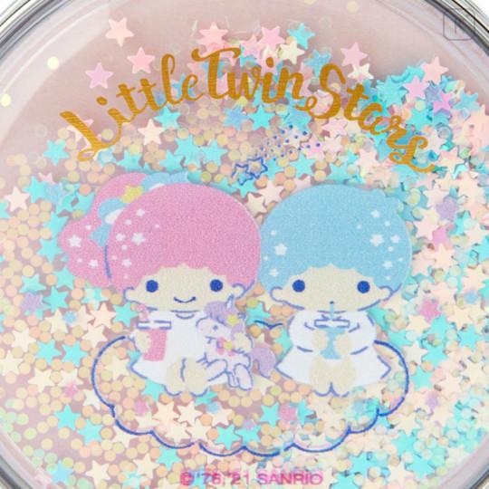 Japan Sanrio 2-sided Pocket Mirror - Little Twin Stars / Happy Spring - 4