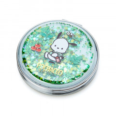 Japan Sanrio 2-sided Pocket Mirror - Pochacco / Happy Spring
