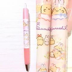 Japan San-X Pilot Opt. Ball Pen - Sumikko Gurashi / Mysterious Rabbit Oniwa Pink