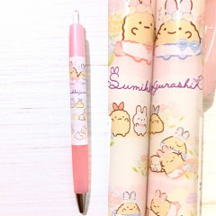 Japan San-X Pilot Opt. Pen - Sumikko Gurashi / Mysterious Rabbit Oniwa Pink