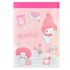 Japan Sanrio B8 Mini Notepad - My Melody
