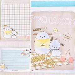 Japan Sanrio B8 Mini Notepad - Pochacco