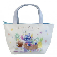 Japan Disney Tote Bag with Insulation Pouch - Stitch